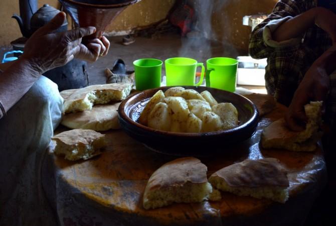 berbere du haut atlas maroc
