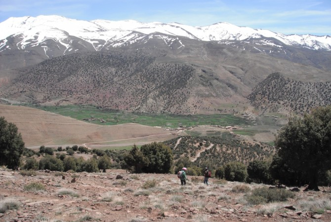 trekking haut atlas