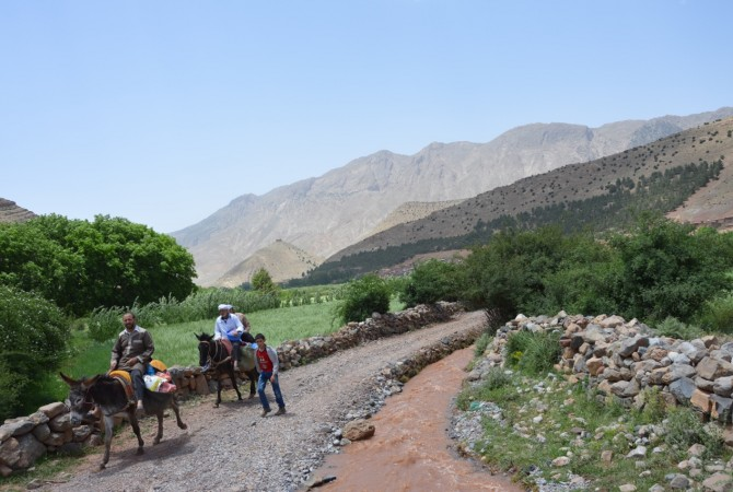 vie berbere haut atlas