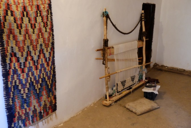 tapis berbere ait bougmez